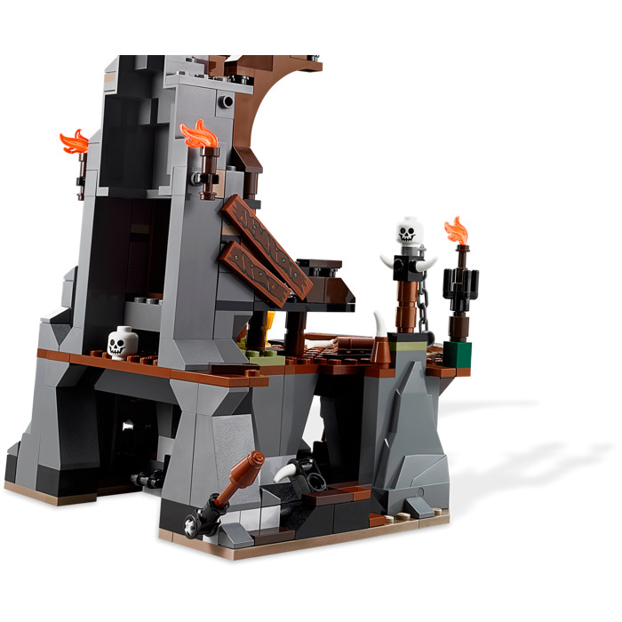 lego goblin king battle instructions