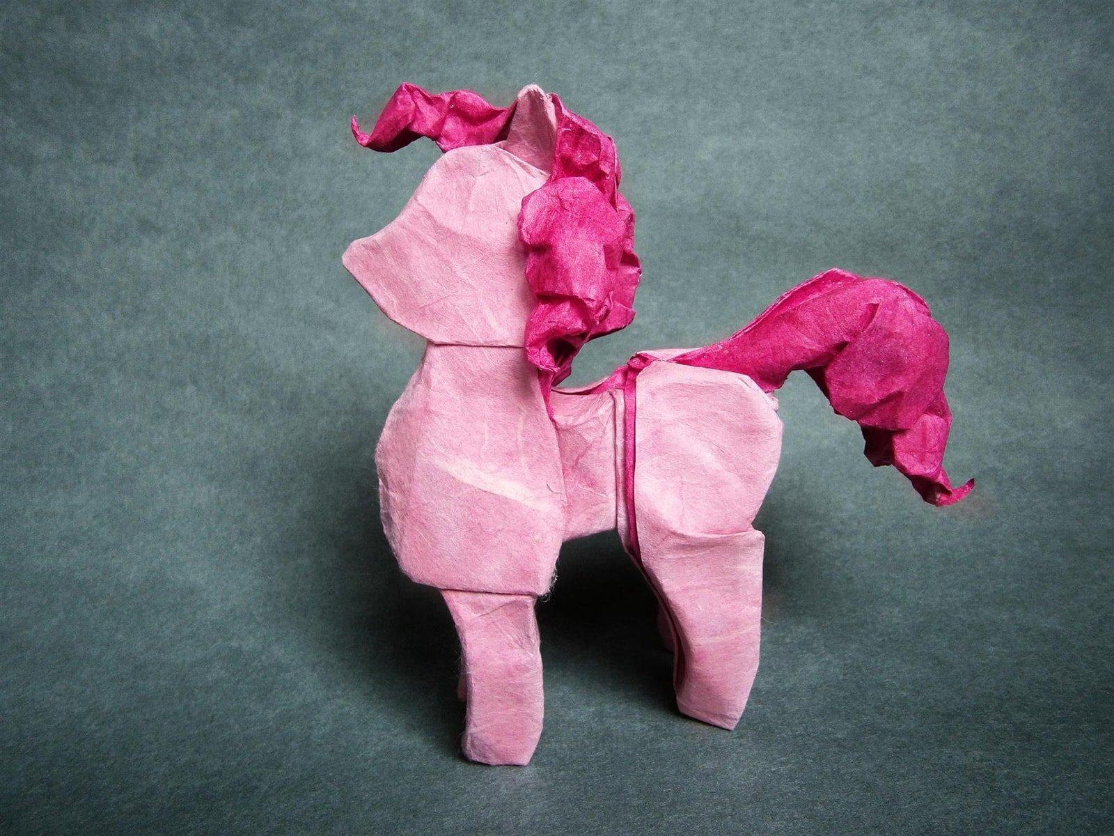 my little pony rainbow dash paper model paper-replika instructions