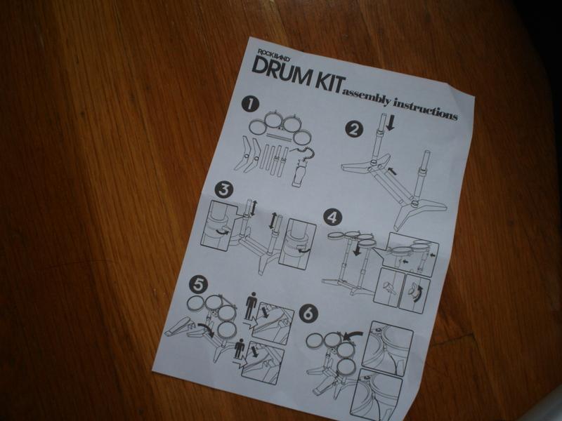band hero xbox 360 instruction manual