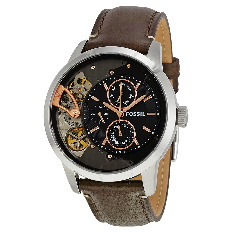 fossil townsman chronograph instructions
