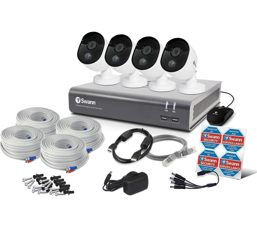 hd smart security system instructions