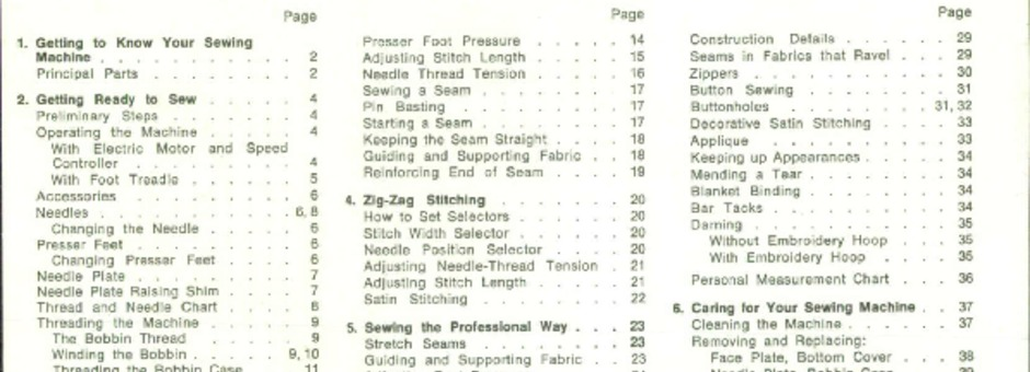 my first sewing kit instructions