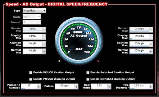 dakota digital speedometer calibration instructions