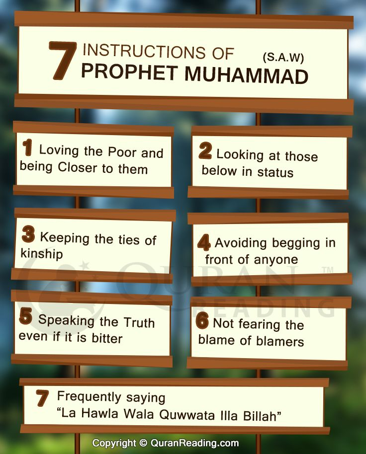 what are the islamic instructions for living called