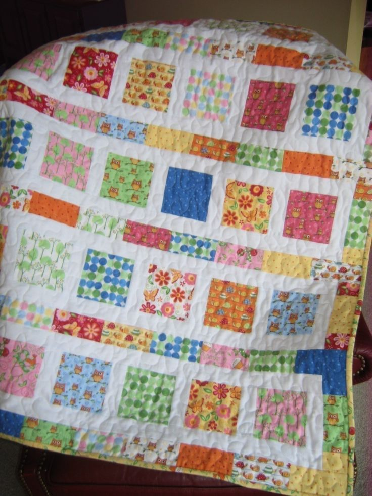 baby quilt making instructions