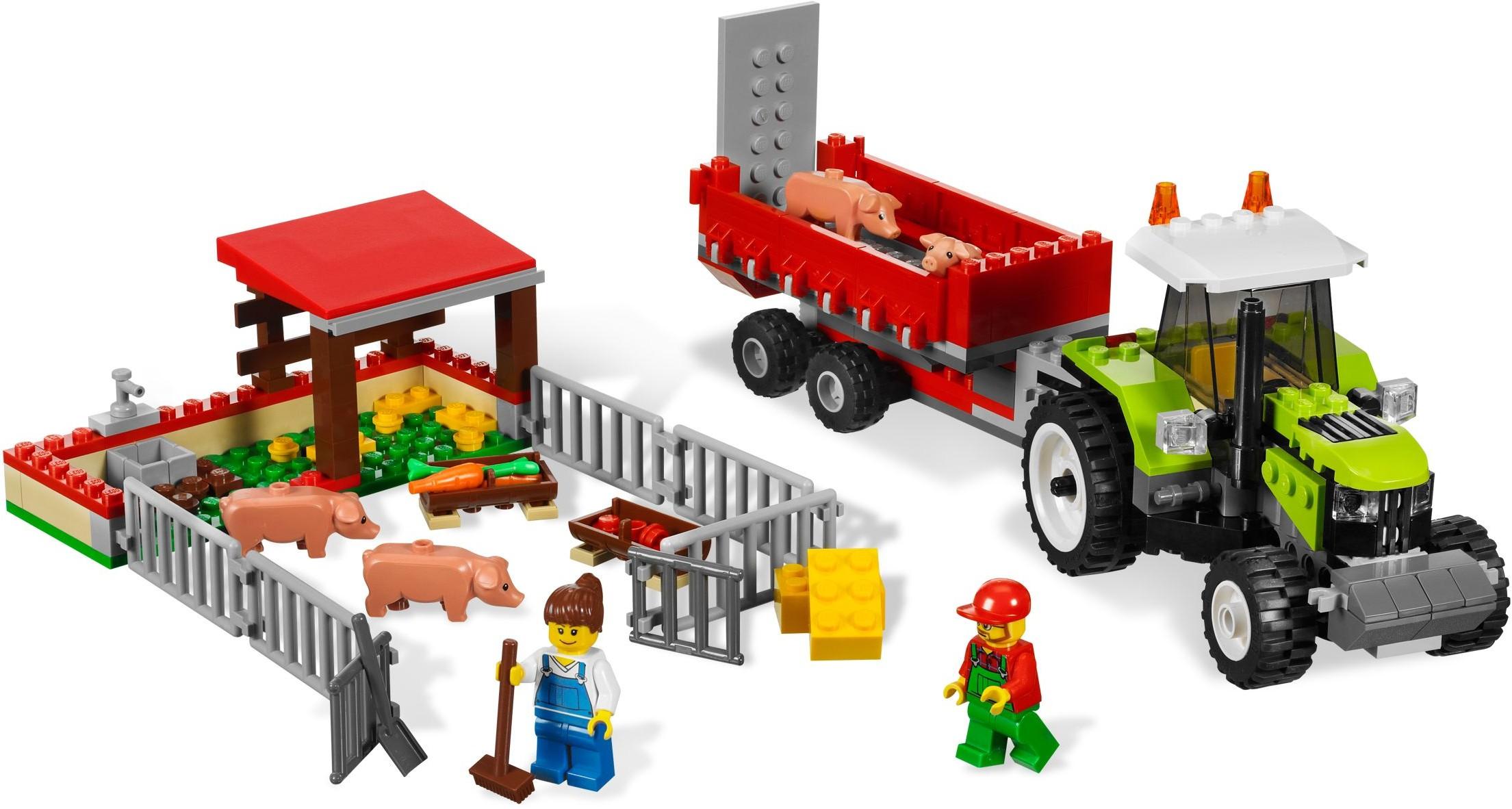 lego city backhoe instructions