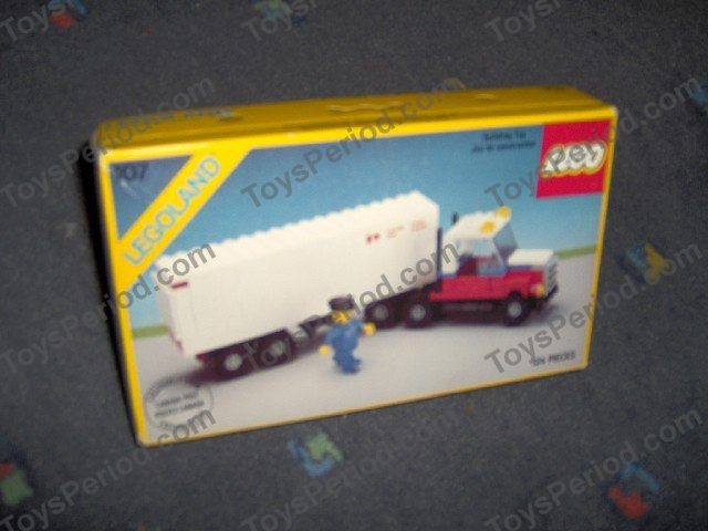 lego canada post mail truck instructions