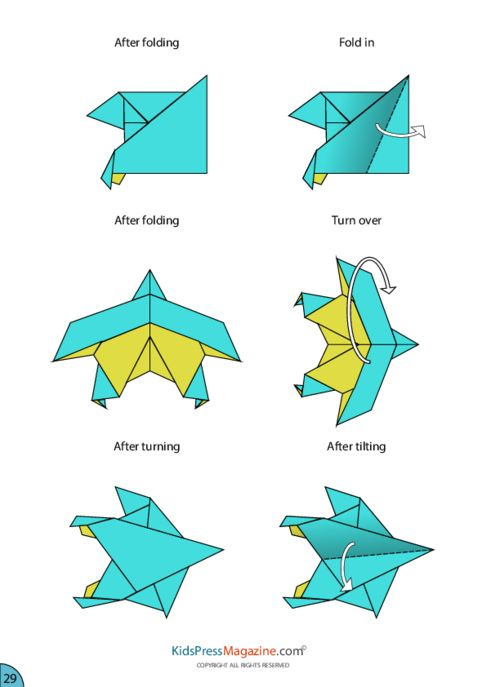 how to fold a paper plane instructions