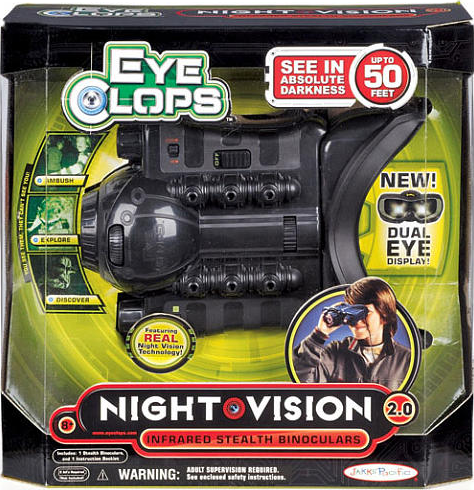 eyeclops night vision goggles instructions