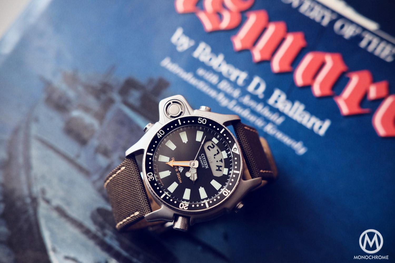 citizen aqualand dive watch instructions