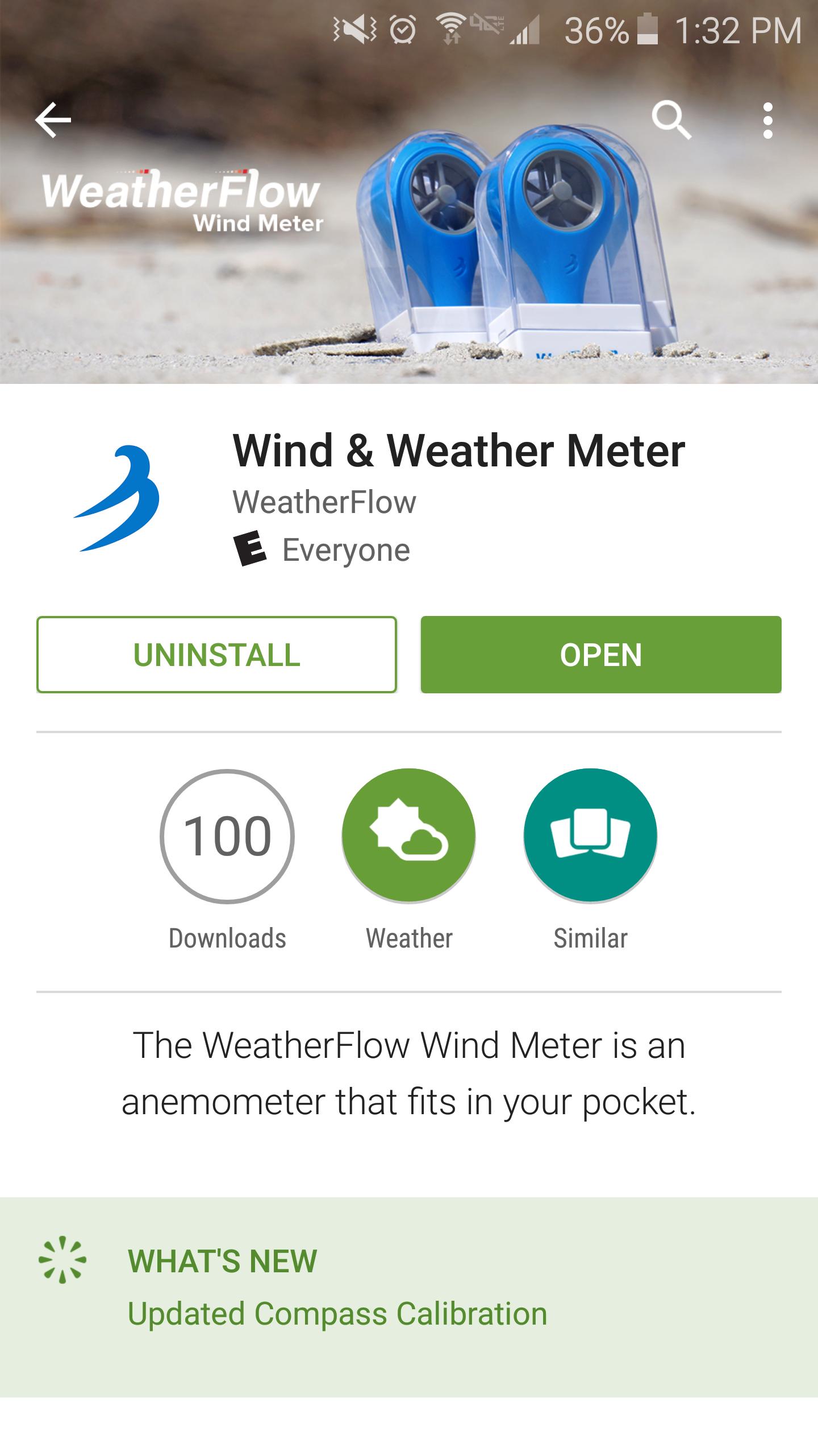 weatherflow wind meter instructions