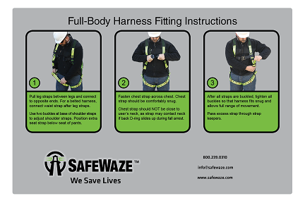 sabelt harness fitting instructions