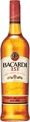 instructions for desiccating bacardi 151