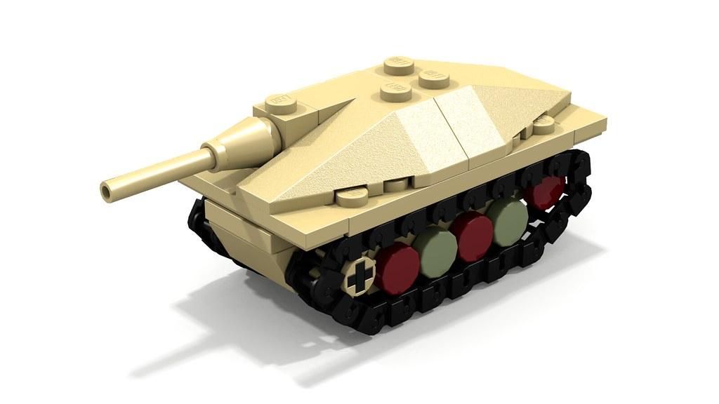 lego small tank instructions