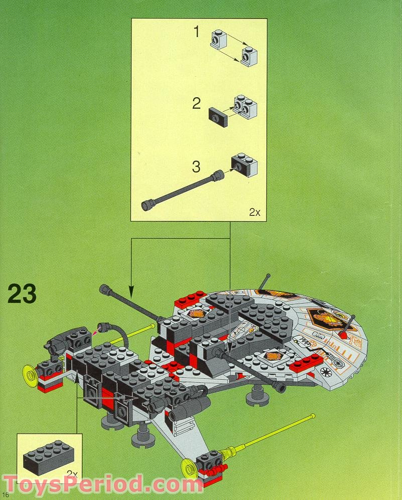 lego x wing black instructions