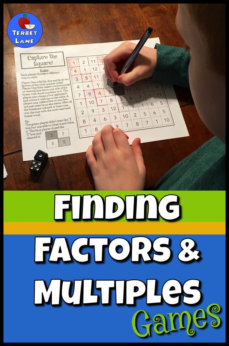 chain factor game instructions
