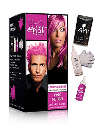 splat hair dye aqua rush instructions