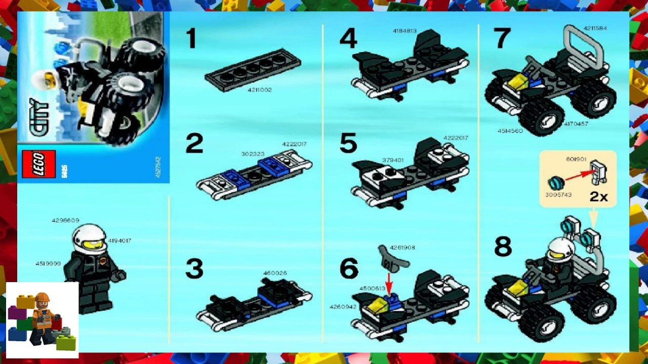 lego city police helicopter instructions 60138
