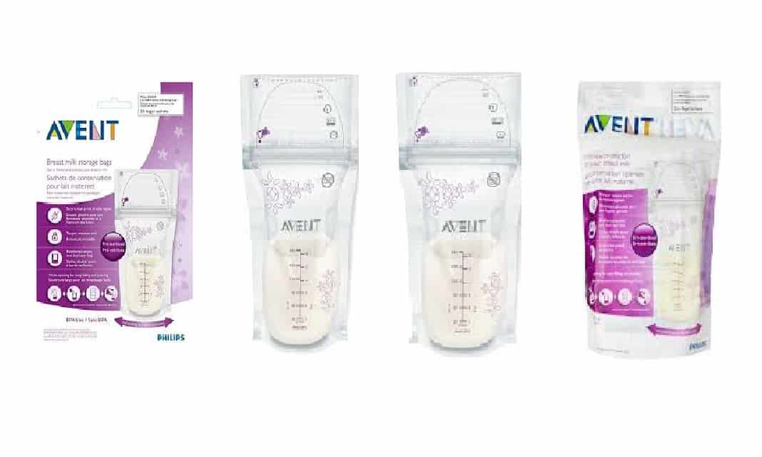 avent milk storage bags instructions