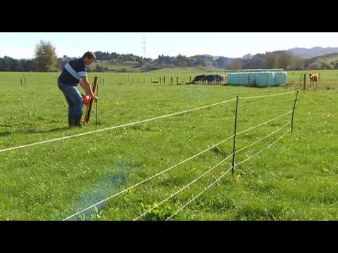 gallagher solar electric fence setup instructions
