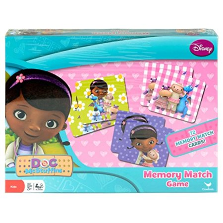doc mcstuffins memory match game instructions
