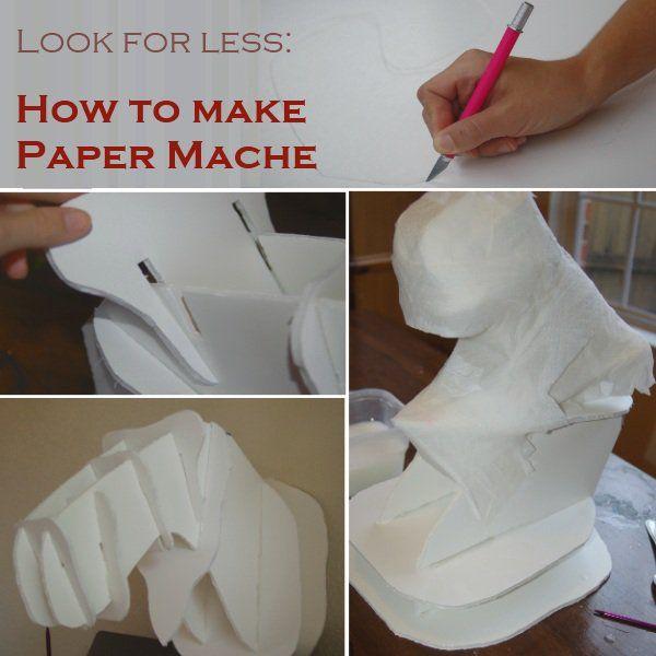 paper mache helmet instructions