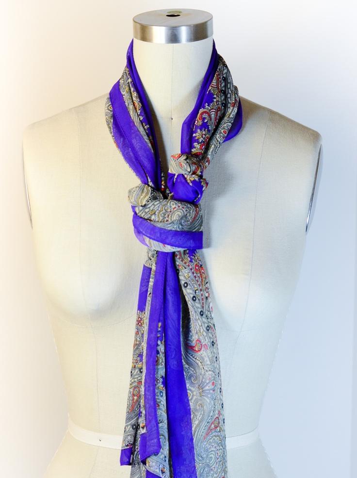 fashion scarf tying instructions