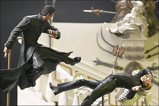 mcfarlane toys the matrix neo in chateau instructions