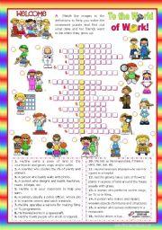 crossword puzzle test instructions