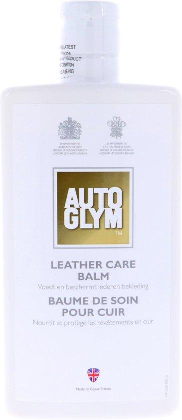 autoglym leather care balm instructions