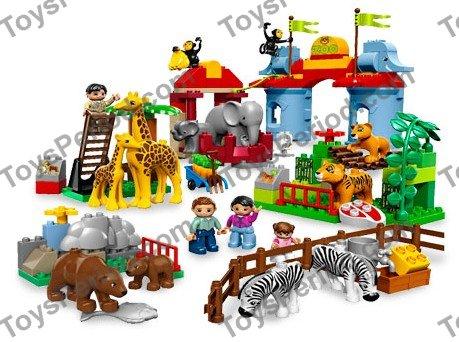 duplo big city zoo instructions
