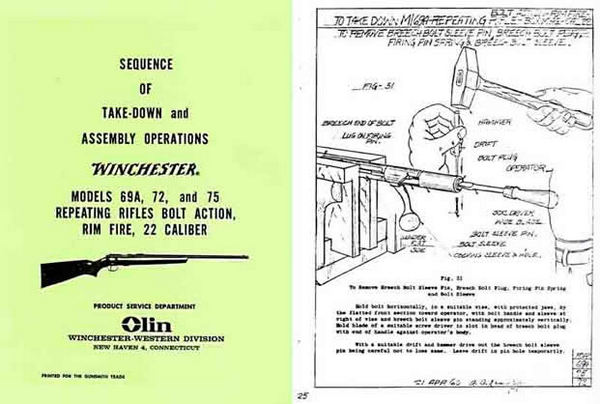 winchester model 94 takedown instructions