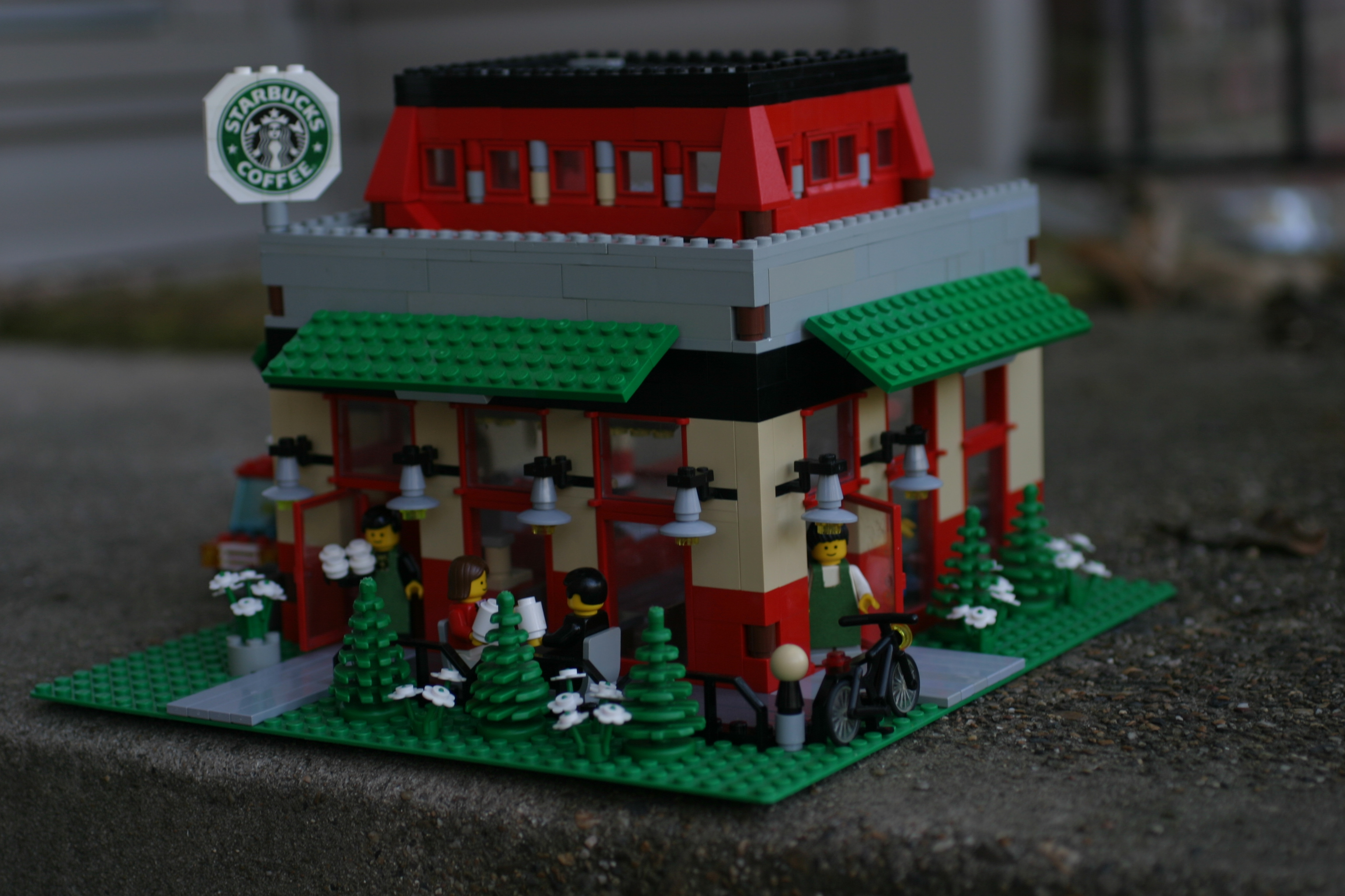 lego coffee cup instructions