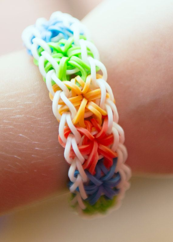 rubber band loom instructions printable