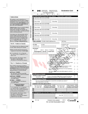 cbsa form b4 instructions
