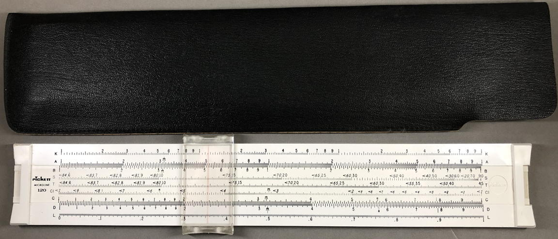 pickett microline 120 slide rule instructions