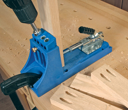 kreg k4 pocket hole jig instructions