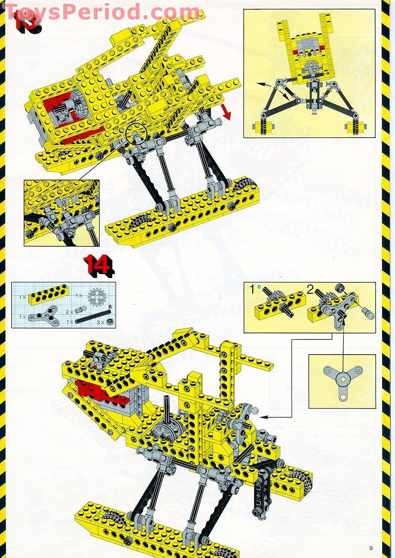 lego mecha instructions pdf