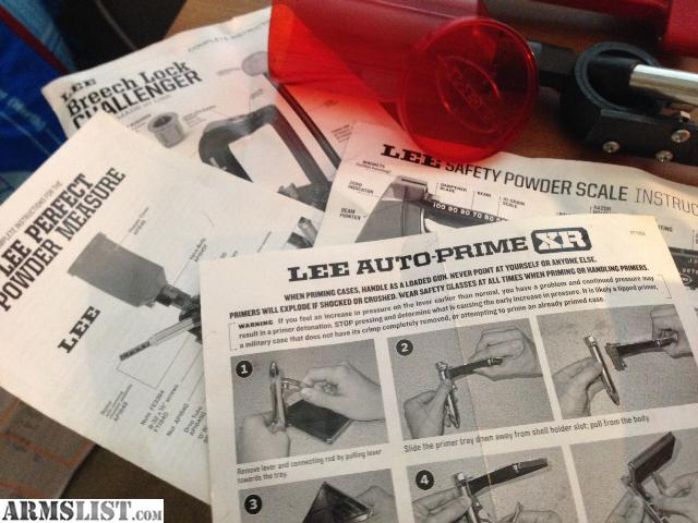 lee resizing lube instructions