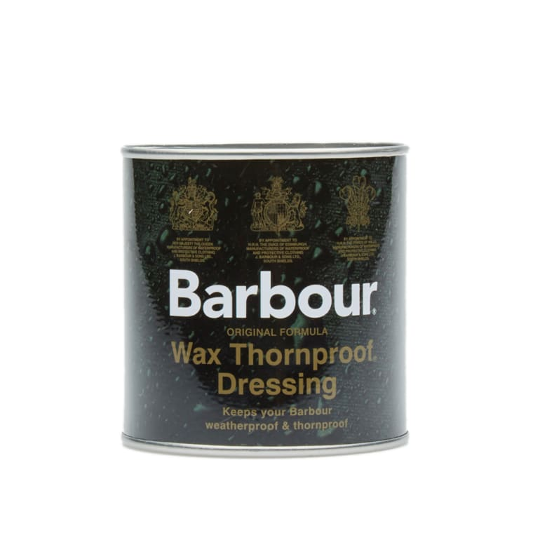barbour thornproof wax dressing instructions