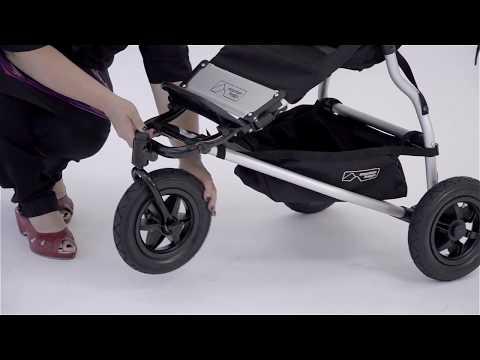 bob ironman stroller folding instructions