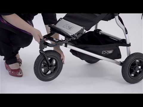 bob ironman stroller folding instructions