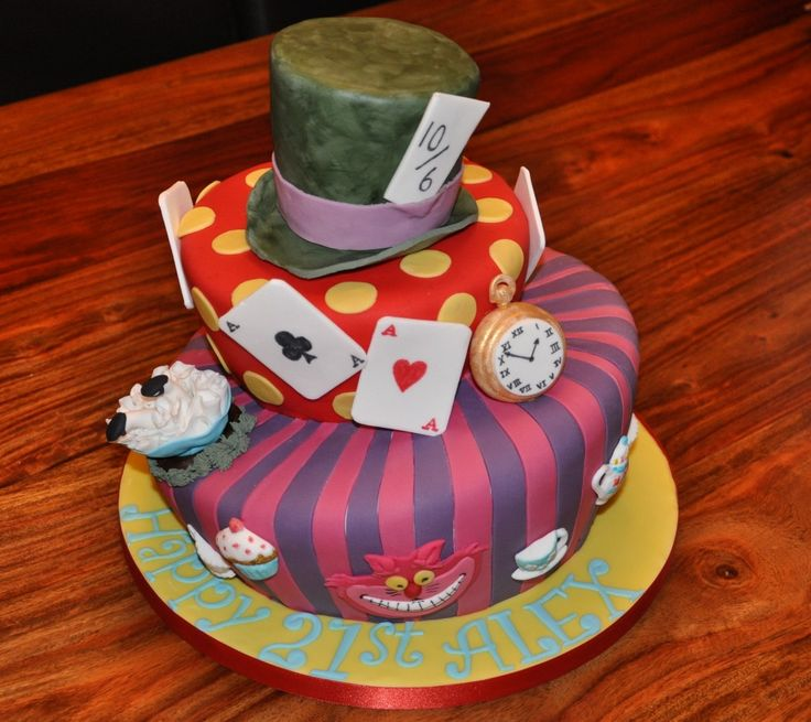 mad hatter hat cake instructions