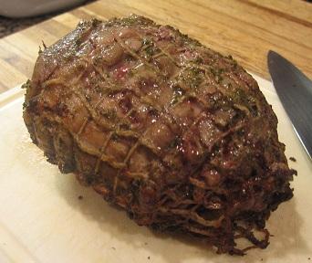cooking instructions boneless rolled lamb roast