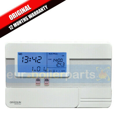 central heating clock timer instructions