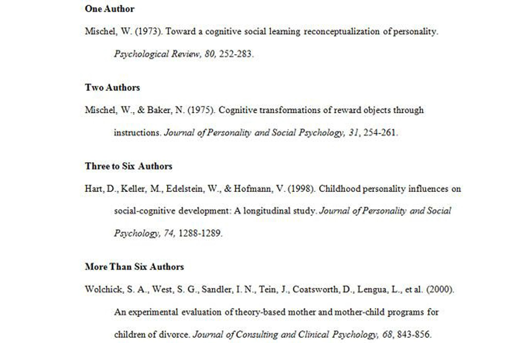 cognitive psychology and instruction 5th edition apa citation