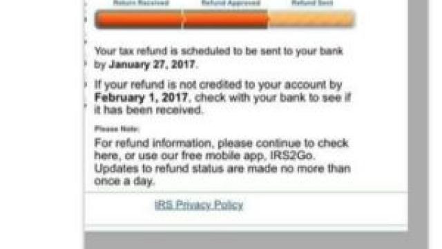 direct deposit instructions irs