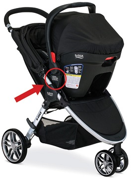 britax agile click and go receiver instructions