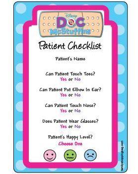 doc mcstuffins check up center instructions
