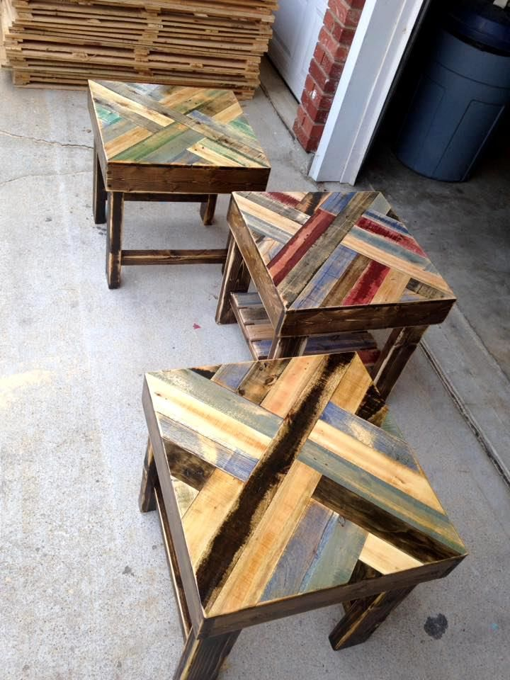 pallet end table instructions